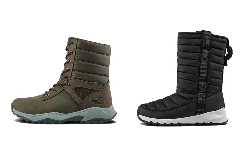 Men-Thermoball Boot Zip-up TWD 6,880 & Women-Thermoball Tall TWD 4,380