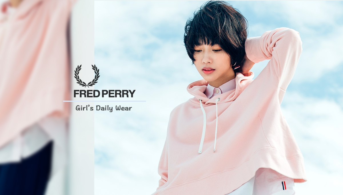 FRED PERRY Life | 春的女子日常著