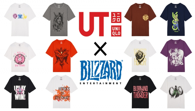 「UNIQLO x Blizzard 」春夏最強跨界合作 5月中旬上市