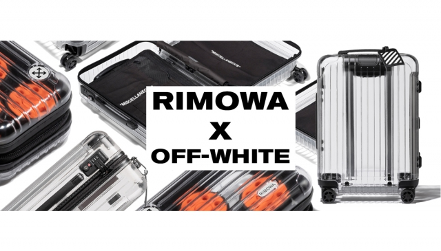 Off-White x RIMOWA  「透明」行李箱 潮出新高度