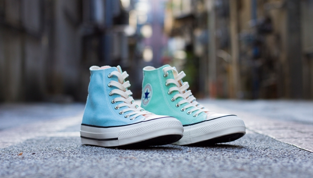 夏日粉嫩拼接 CONVERSE ADDICT MULTI HI