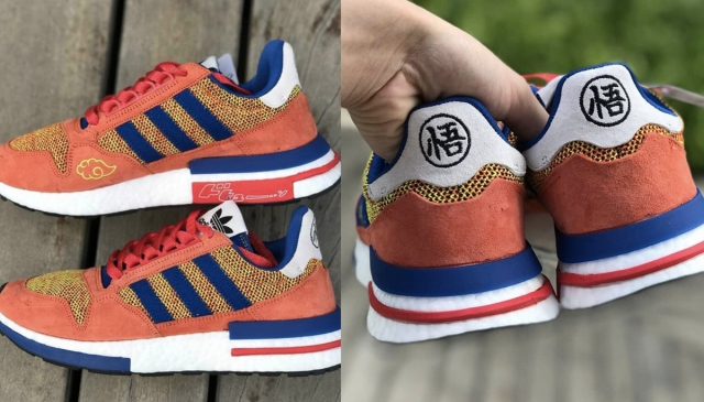《DRAGON BALL Z》x adidas Originals 聯名「GOKU」悟空鞋實體曝光