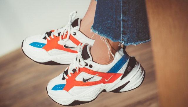 "NIKE M2K TEKNO ""Team Orange"" 