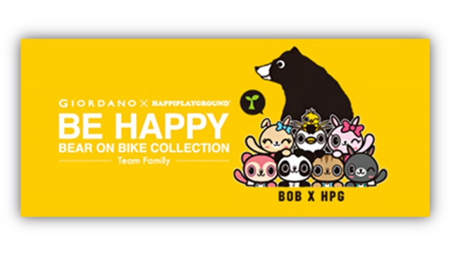 GIORDANO x HAPPIPLAYGROUND《BE HAPPY》| always be happy